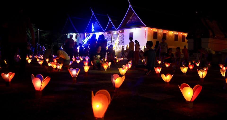 Festival Lampu di Kuil Luang Prabang3