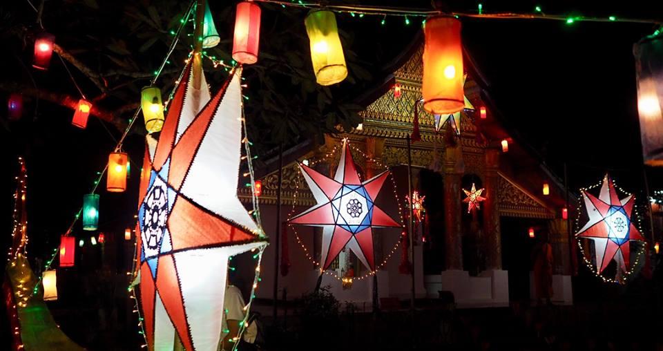 Festival Lampu di Kuil Luang Prapang2