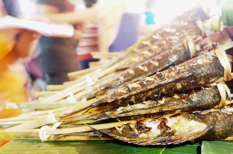 Ikan Bakar di Night Market, Luang Prabang