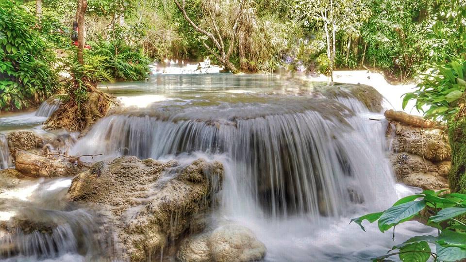 Kuang Si Waterfall di Luang Prabang