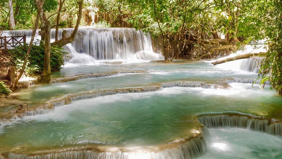 Kuang Si Waterfall di Luang Prabang2