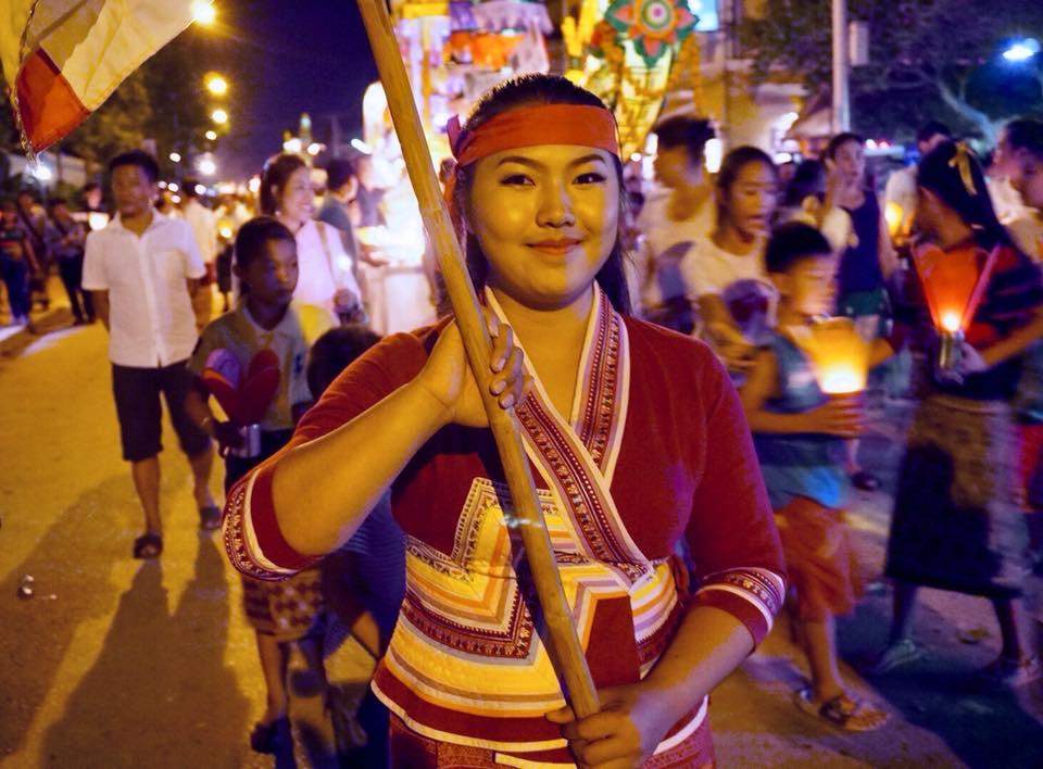 Parade Perahu Lampu di Luang Prabang2