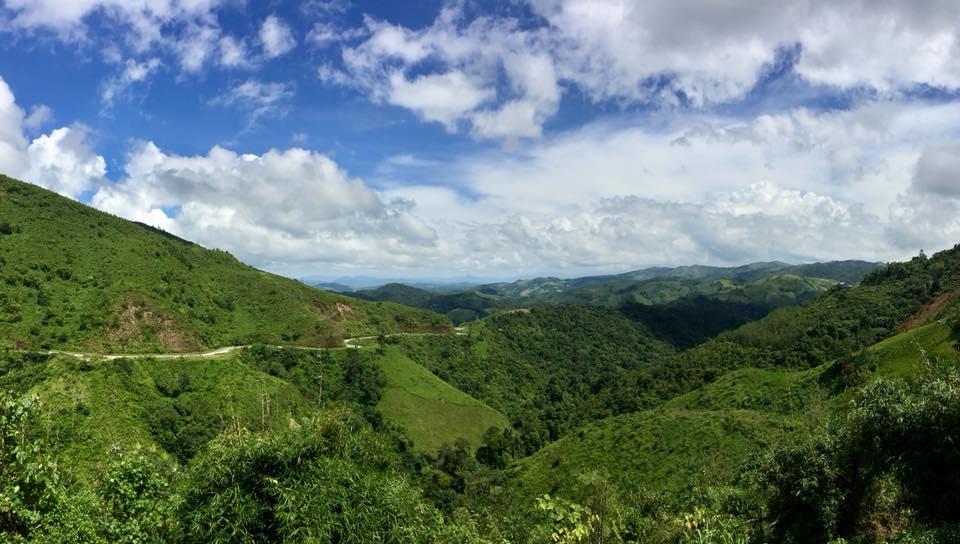 Perjalanan ke Vang Vieng