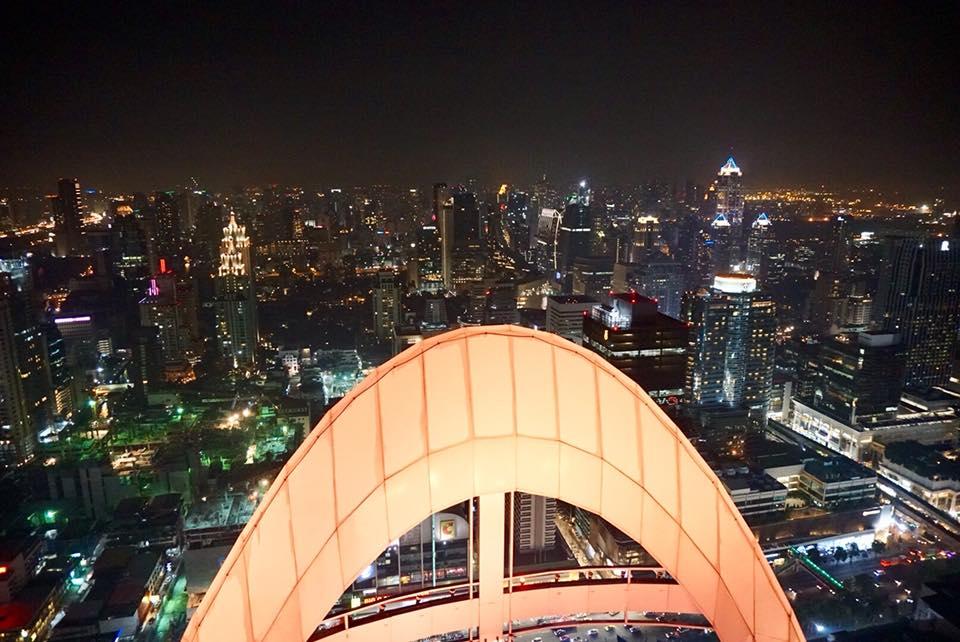 Pemandangan Bangkok dimalam hari2